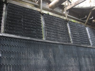 Dirty Fill of a Cooling Tower